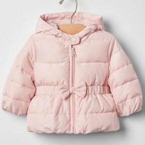6-12M Baby Gap Pink Puffer Coat